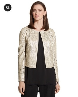 Black Label Perforated Jacket