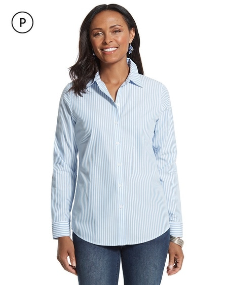 Petite Effortless Striped Delisa Shirt