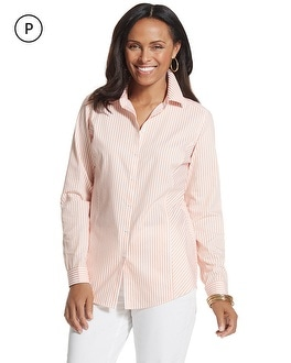 Petite Effortless Striped Lesli Shirt