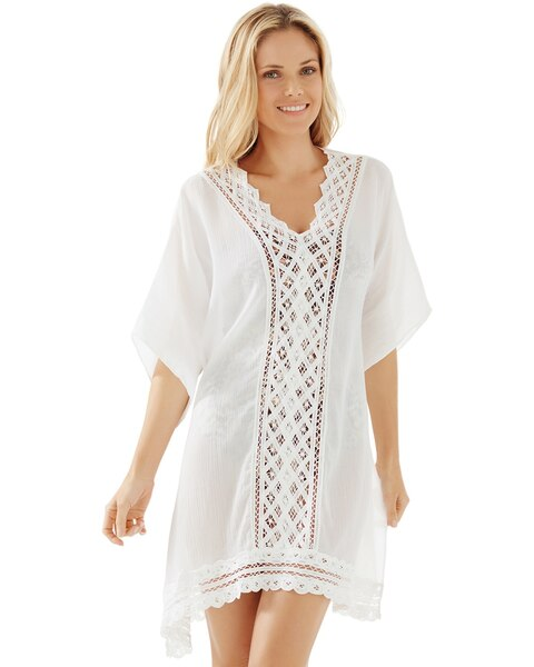 bd642b3144 Lace Swim Cover Up - Chico's