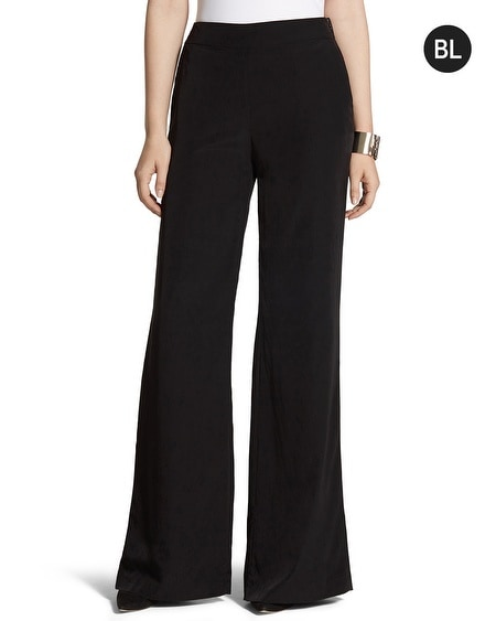 Black Label Wide-Leg Pants