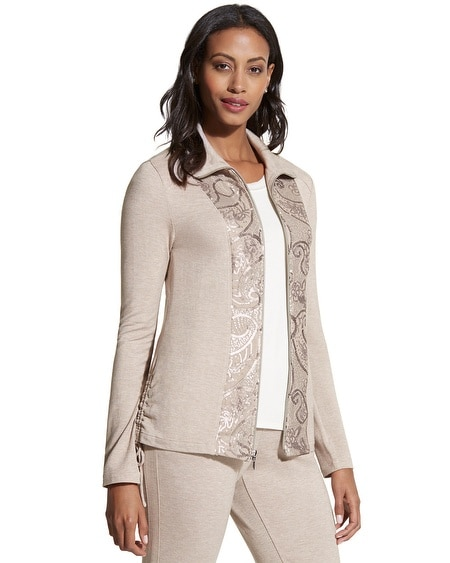 Zenergy Retreat Sequined Jacket