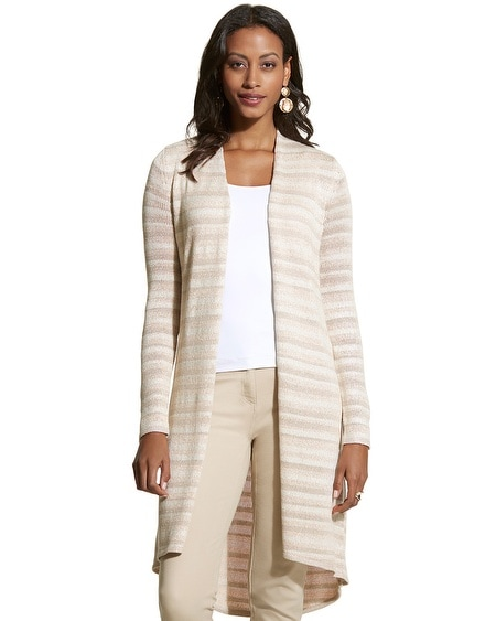 Kennedy Striped Cardigan