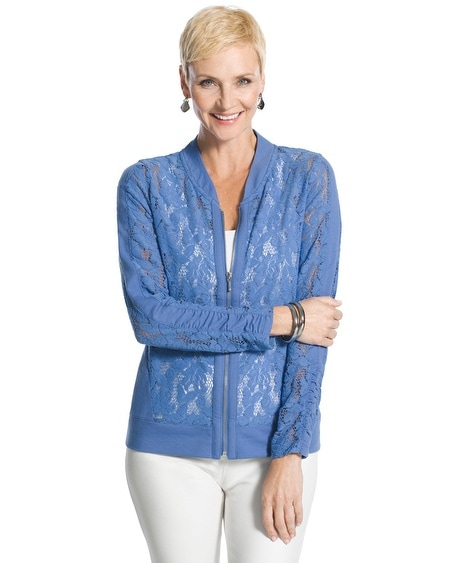 Zenergy Lace Panel Jacket