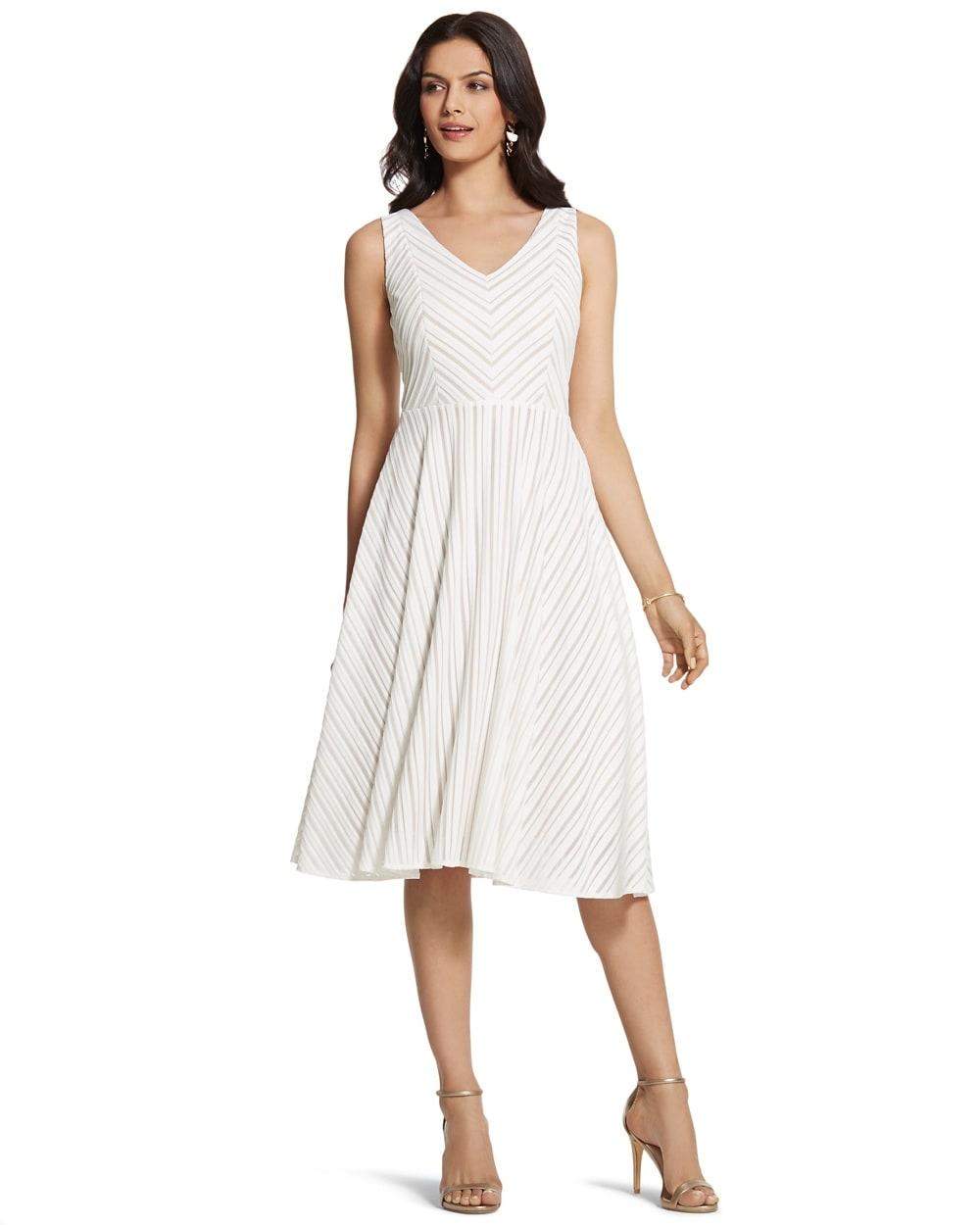 Chevron Striped Dress - Chico\'s