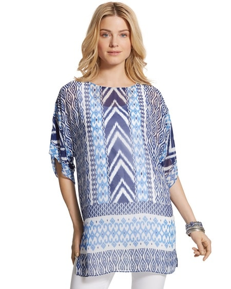 Aztec Hazel Geometric Top