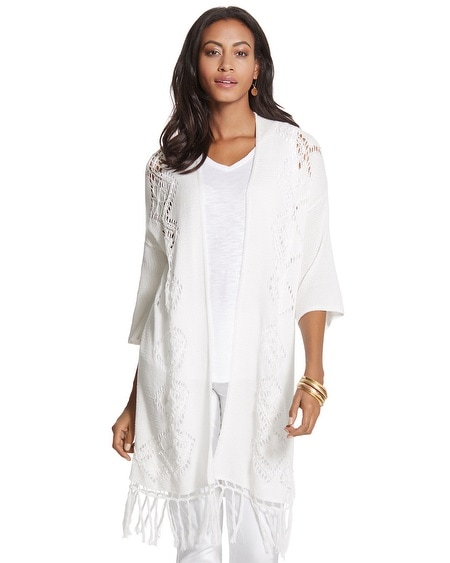 Rowena Long Cardigan