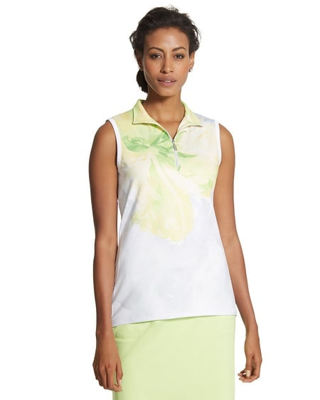Zenergy Golf Floral Sleeveless Top
