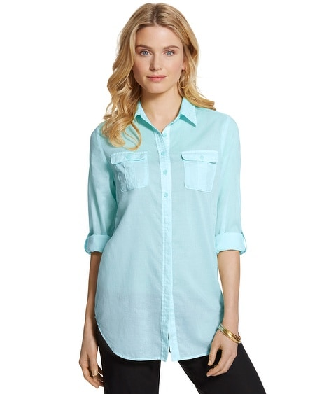 Celia Relaxed Cotton Shirt