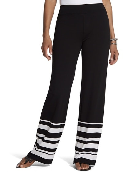 Zenergy Retreat Striped Border Pant