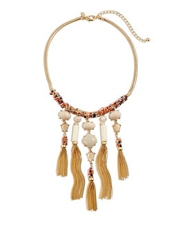 Reese Tassel Necklace
