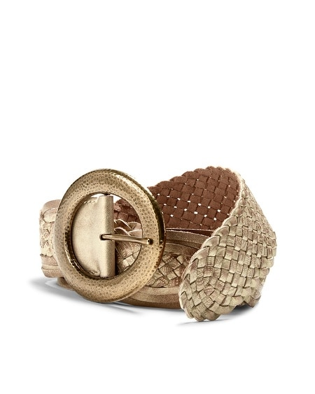 Rhoda Braided Leather Belt
