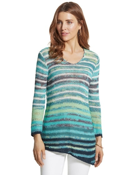 Marsha Striped Pullover Sweater