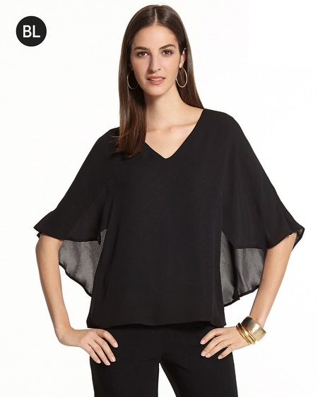 Best of Black Cape Top