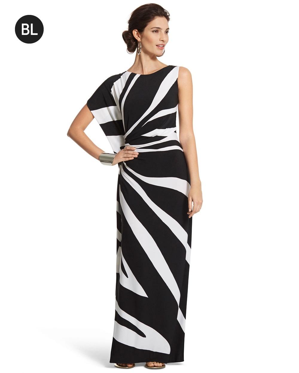 6935915253 One-Shoulder Maxi Dress - Chico s