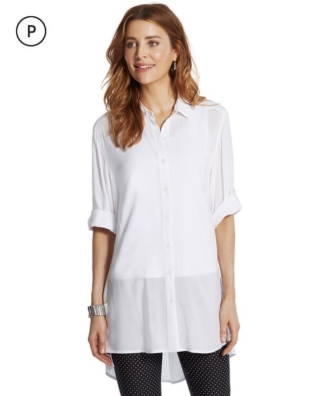 Petite Kammie Button-Down Shirt