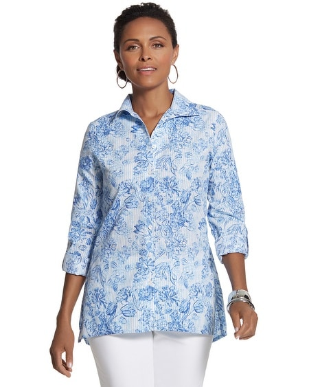 Effortless Cayla Button-Down Shirt
