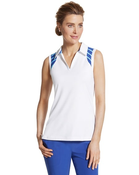 Zenergy Golf Striped-Inset Tank