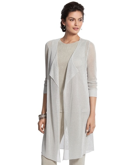 Travelers Collection Duster Cardigan
