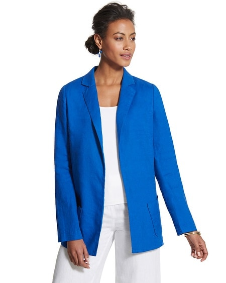 Soft Summer Linen Blazer