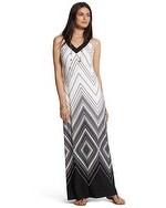 Graphic Diamond Greta Maxi Dress