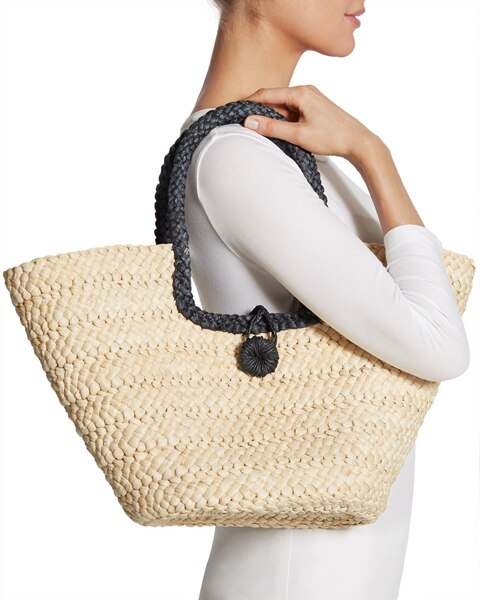 Straw Tote - Chicos