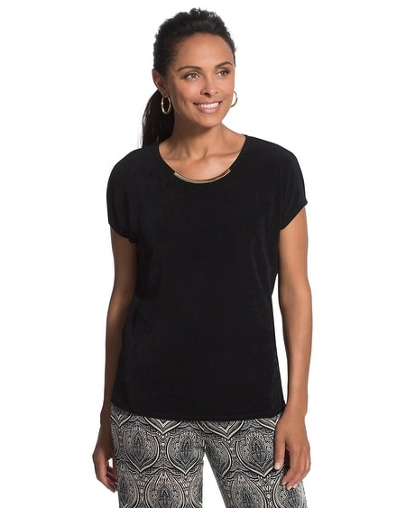 Travelers Classic Embellished Top