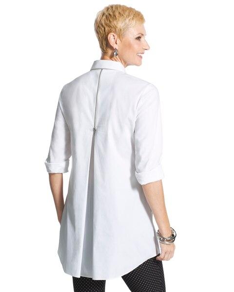 Cheyenne zip back shirt chicos for Zip up dress shirt