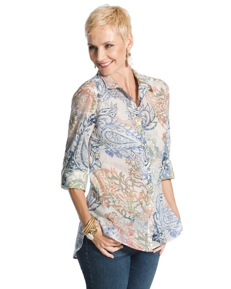 Paisley Allure Audra Shirt