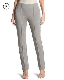 Petite Lindy Side-Zip Pants
