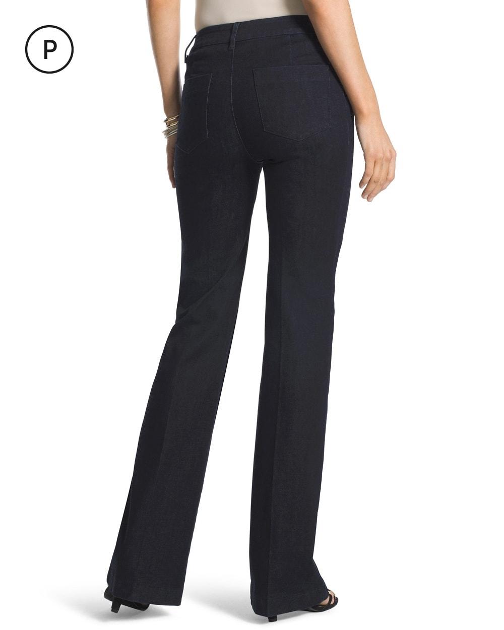 Petite Platinum Trouser Jeans - Chicos
