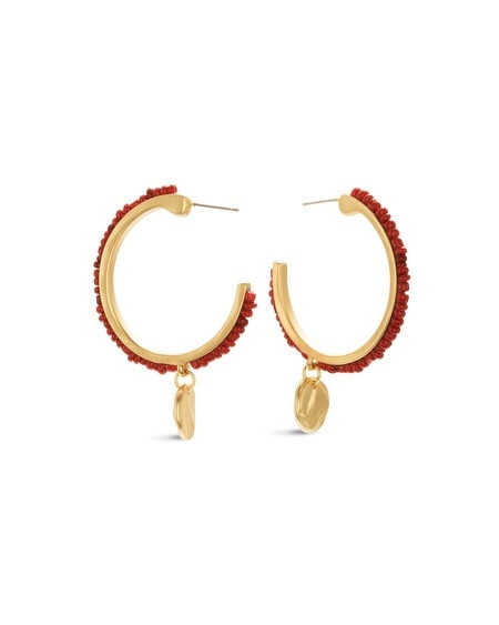 Glenda Hoop Earrings