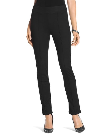 Travelers Collection Crepe Cuffed Pants