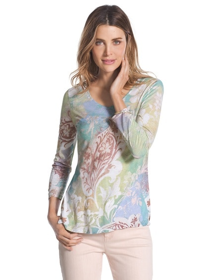 Veronica Paisley Top