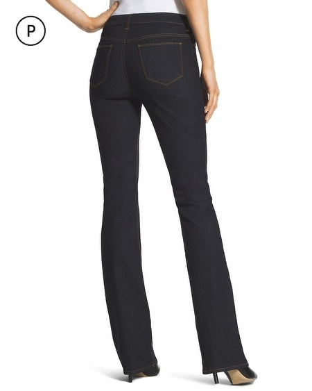 Petite Platinum Barely Bootcut Jeans - Chicos