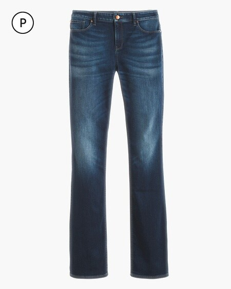 Petite Platinum Barely Bootcut Jeans - Chicos