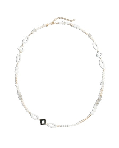 Jemma Long Shell Necklace