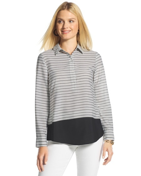 Striped Block Devin Shirt