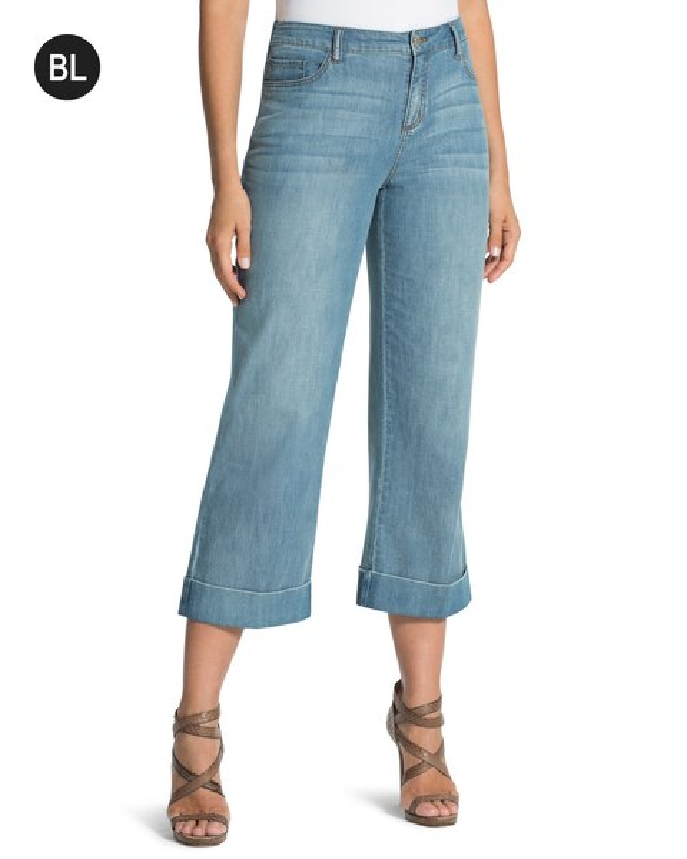 e5dd7925a7dd Crop Denim Trouser Pants - Chico's
