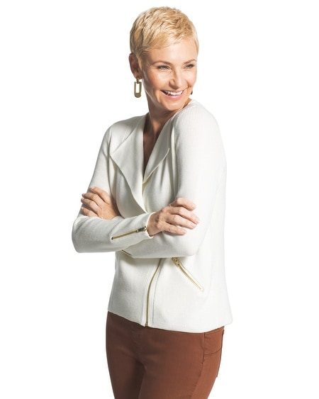 Anya Zip-Up Cardigan
