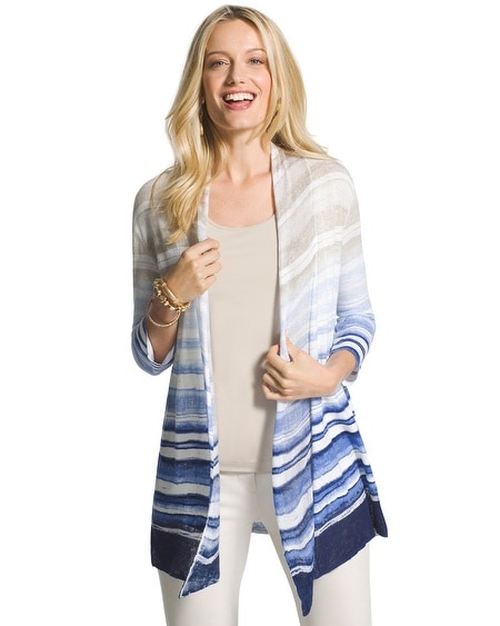 Ombre Striped Simi Cardigan