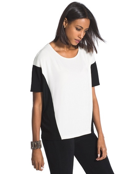 Travelers Classic Black-and-White Top