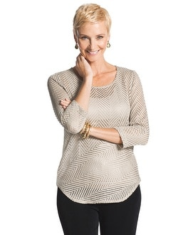 Travelers Collection Textured Top