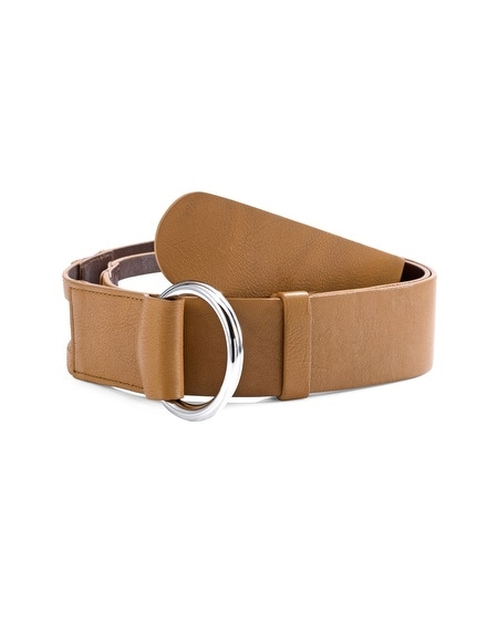 Dreama Brown Leather Belt