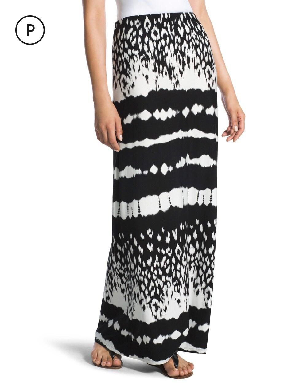 tie dye striped maxi skirt chico s