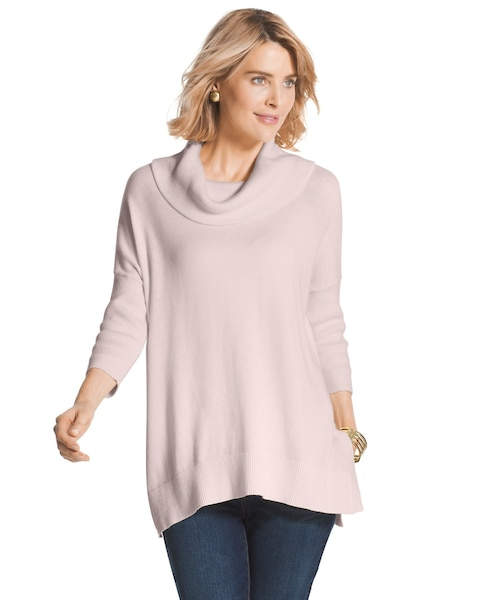 Kayla Cowl Neck Sweater - Chicos