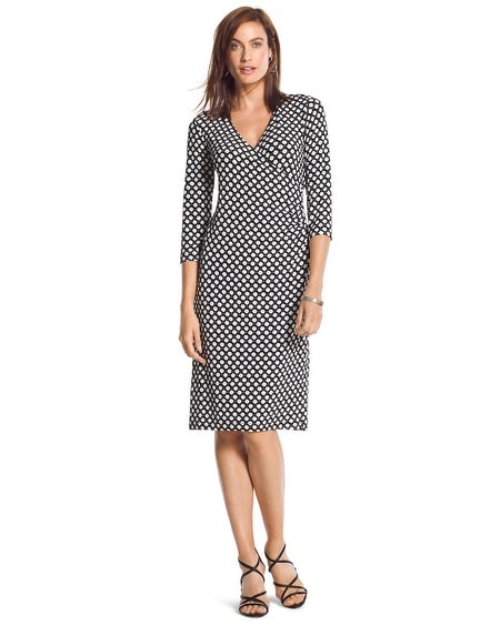 Travelers Classic Rosemary Faux-Wrap Dress