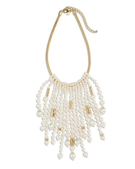 Aster Fringe Necklace