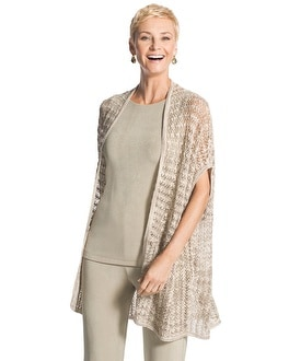 Travelers Collection Textured Cardigan