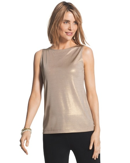 Travelers Classic Shimmer Tank
